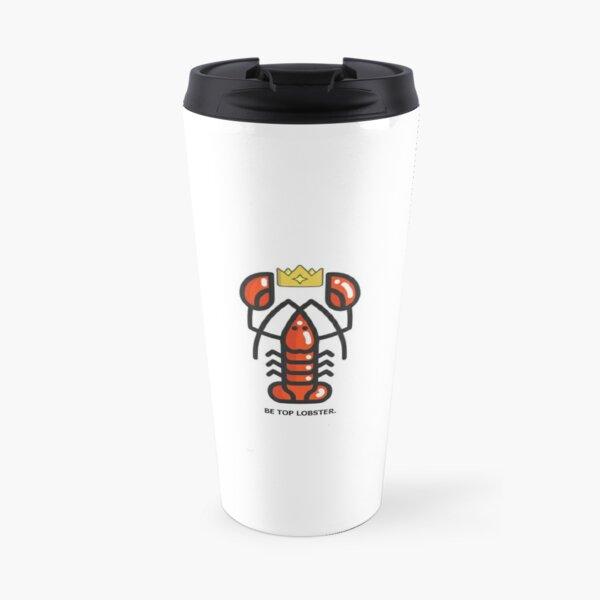Jordan Peterson Lobster Travel Mug