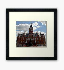 City Hall, Stratford, Ontario, Canada Framed Print