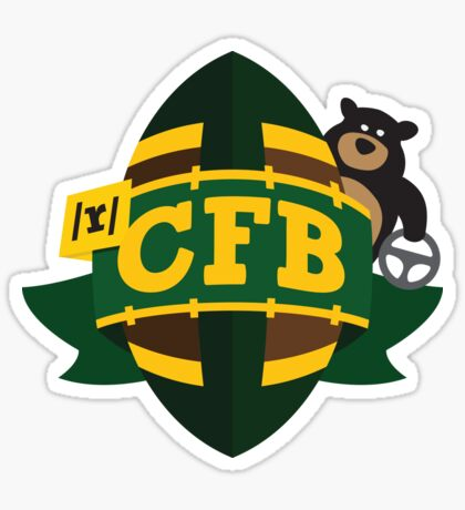Baylor Sticker Sticker