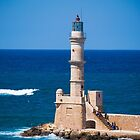Chania Lighthouse by Rae Tucker