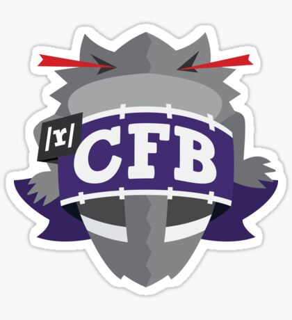 TCU Sticker Sticker