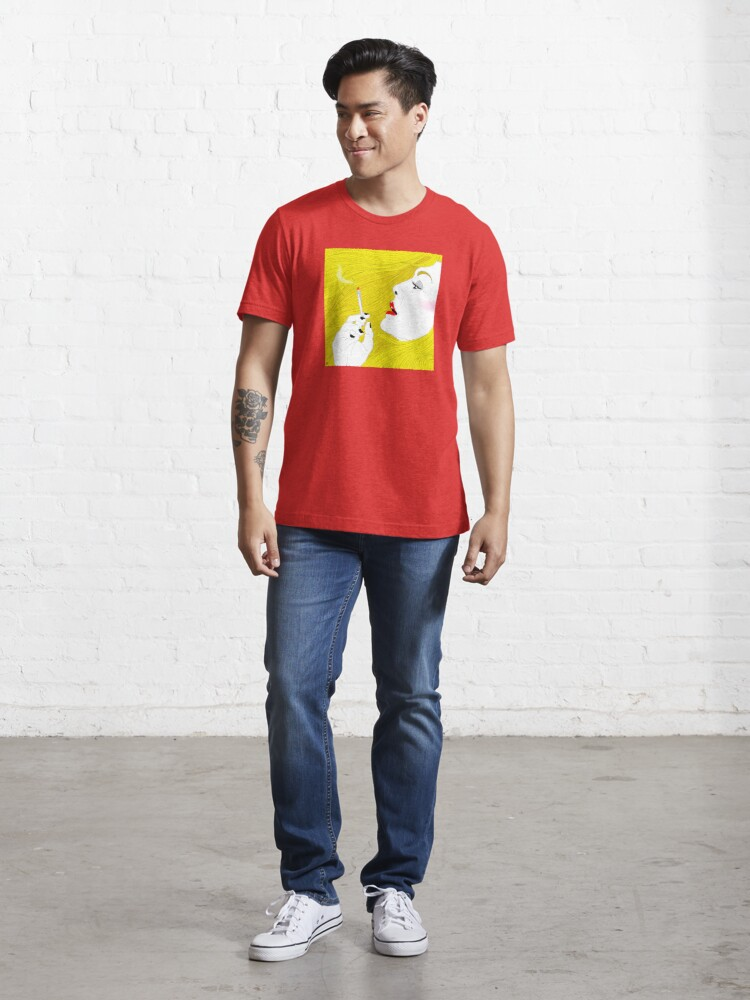 Alternate view of Smoking Hair Essential T-Shirt