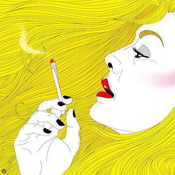 Smoking Hair by AlyOhDesign