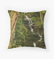 Tillman Ravine and Buttermilk Falls Throw Pillow