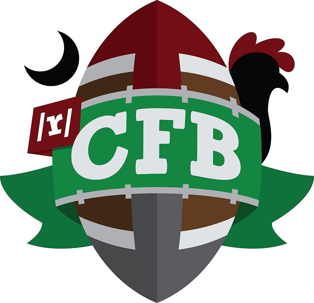 South Carolina Sticker by RedditCFB