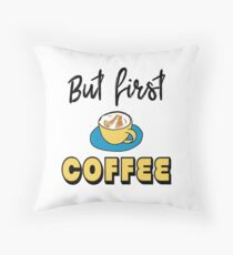 But first - coffee Floor Pillow