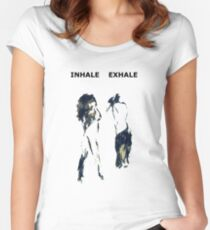 Inhale Exhale Women's Fitted Scoop T-Shirt