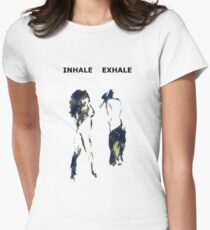 Inhale Exhale Women's Fitted T-Shirt