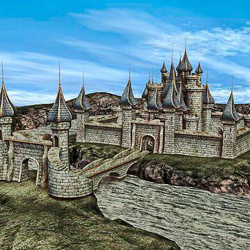 Fairy Tale Castle by Vac1