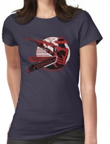 Furiosa Motor Oil Womens Fitted T-Shirt