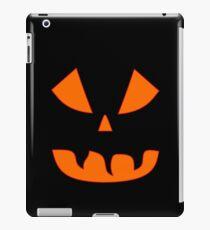 Halloween Kürbisgesicht iPad-Hülle & Klebefolie