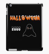 Halloween Booo Geist iPad-Hülle & Klebefolie