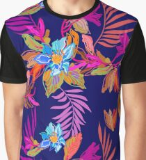 Tropical forest colors Graphic T-Shirt