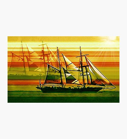 To the Sea in Ships Photographic Print