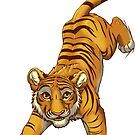 Cute tabby tiger by EosFoxx
