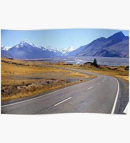 Mt Cook Moment Poster