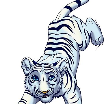 White tiger on your shirt by EosFoxx
