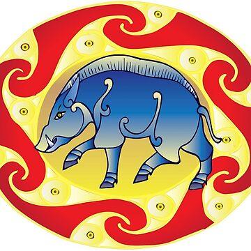 The arrogant boar by lowcr