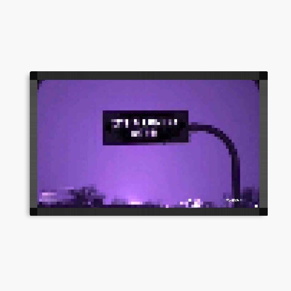 LAST EX^T by RootCat Canvas Print