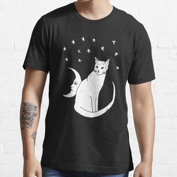 Moon Cat T-Shirt  Essential T-Shirt