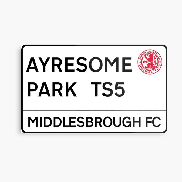 Middlesbrough FC Ayresome Park Metal Print