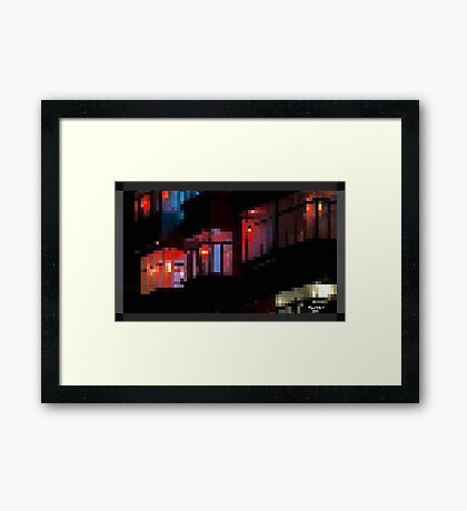 WIND^WS by RootCat Framed Print