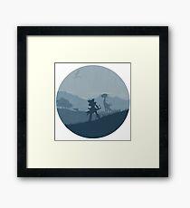 Aloy - HZD Framed Print