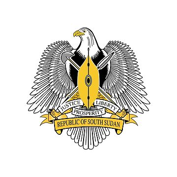 Coat of Arms of South Sudan by fourretout