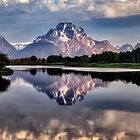 Mt Moran and the Snake River by Kathy Weaver