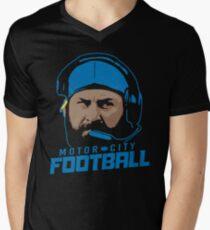 Motor City Football Men's V-Neck T-Shirt