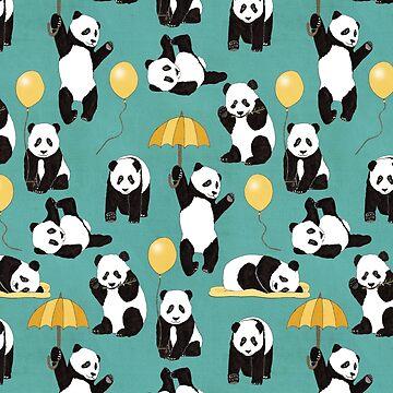 Panda spielen von Tangerine-Tane