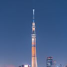 Tokyo Skytree at Night by James-OLT
