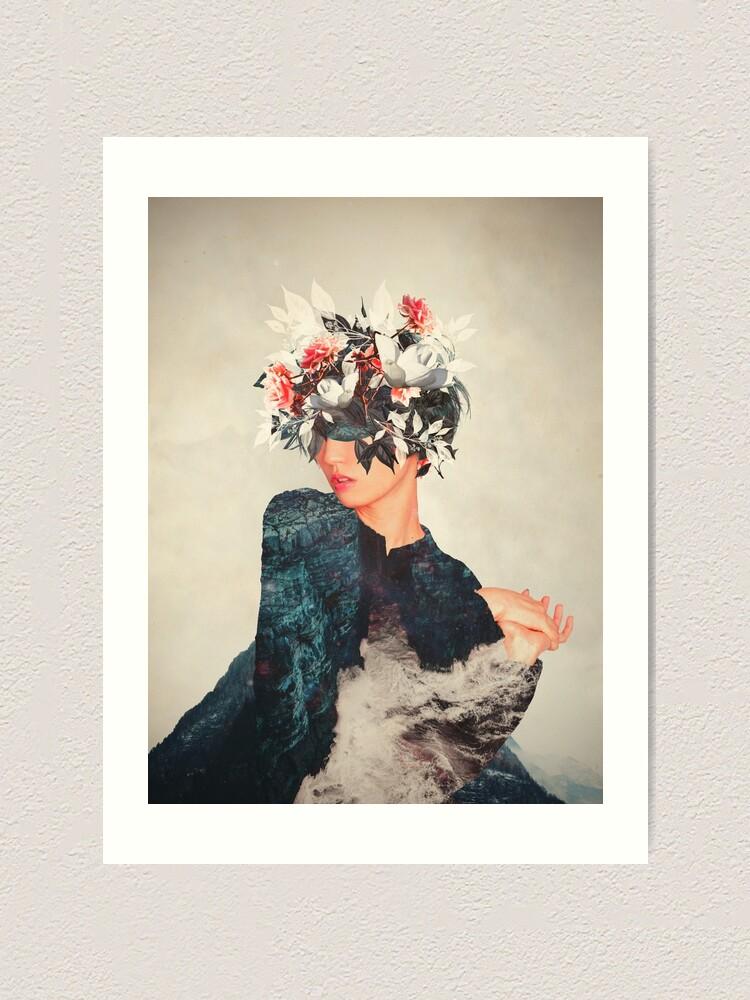 Alternate view of Kumiko Art Print