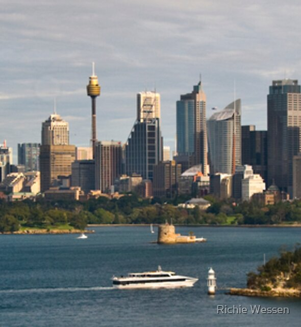 Sydney Panoramic View by Richie Wessen