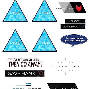 stickers set #2 by flaminska