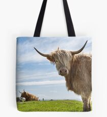 Highland Cow. Island of Lewis. Outer Isles. Scotland. Tote Bag