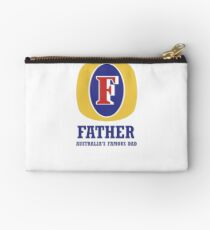 Happy Father's Day - September 2nd in Australia Zipper Pouch