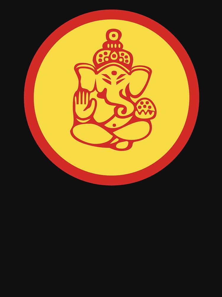 Yoga Ganesh by T-ShirtsGifts