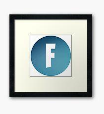 F symbol - Best app game Framed Print