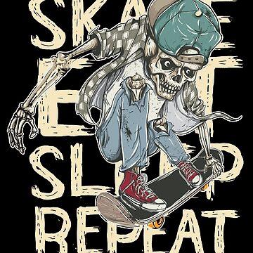 Skateboarding  by printworxx