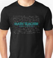 Math Teacher (no problem too big or too small) T-Shirt