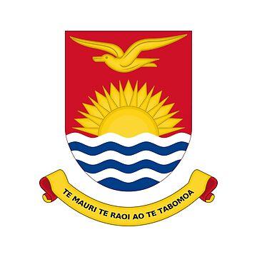 Coat of arms of Kiribati by fourretout