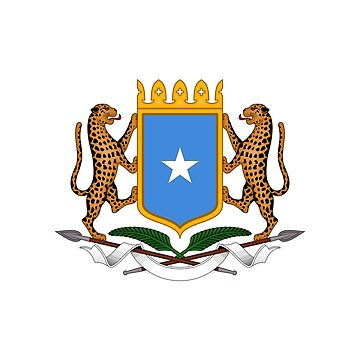 Coat of arms of Somalia by fourretout