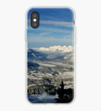 Innsbruck In Winter From Patscherkofel Mountain iPhone Case