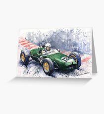 Lotus 18 F2 Greeting Card