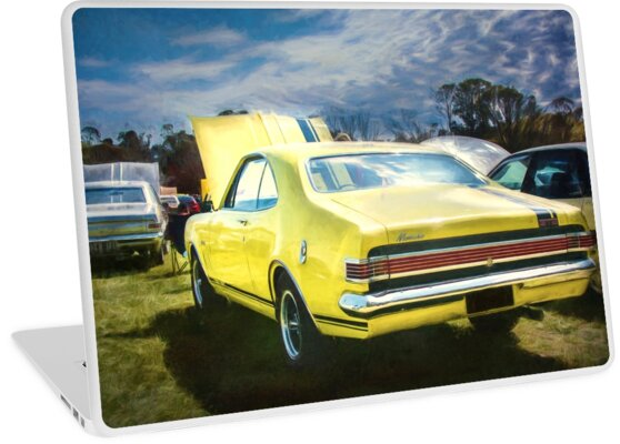Yellow Holden HK Monaro GTS by Stuart Row