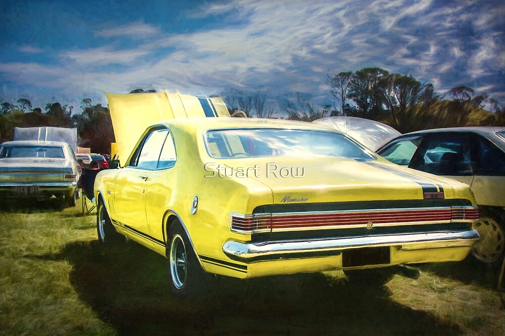 Yellow Holden HK Monaro GTS by Stuart Row