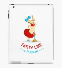 Party Like A Russian iPad Case/Skin