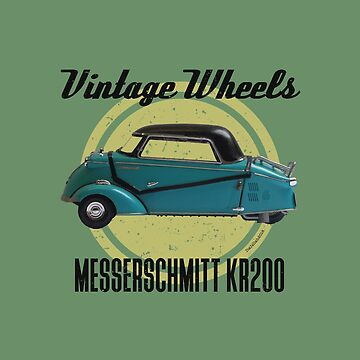 Vintage Wheels - Messerschmitt KR200 by DaJellah