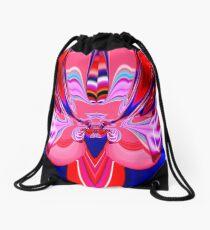 contemporary techno art 1006 Drawstring Bag